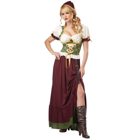 Renaissance Wench Costume Dress Adult](Toddler Renaissance Costume)