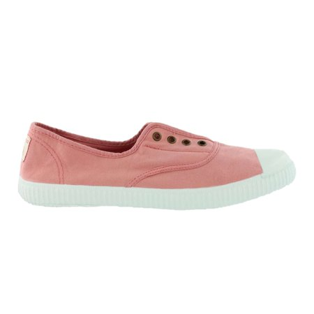 Victoria Women Slip On Organic Cotton Canvas Casual Shoes