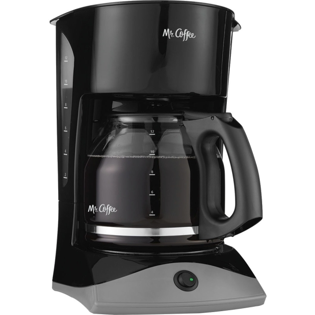 Mr. Coffee Simple Brew 12-Cup Switch Coffee Maker Black, SK13-RB - 12 Cup(s) - Black