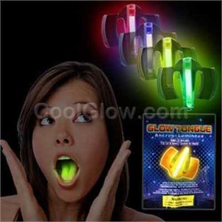 Fun Central O042 Glow in the Dark Mouth Guard - Assorted - Glow In The Dark Partys
