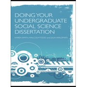 Doing Your Undergraduate Social Science Dissertation - eBook