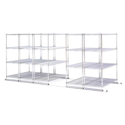 OFM BEF3580565 - Best Silver Wire Shelving 48x18x72 - for...