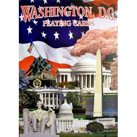 Washington D.C. with Cherry Blossoms Souvenir Playing Cards ()