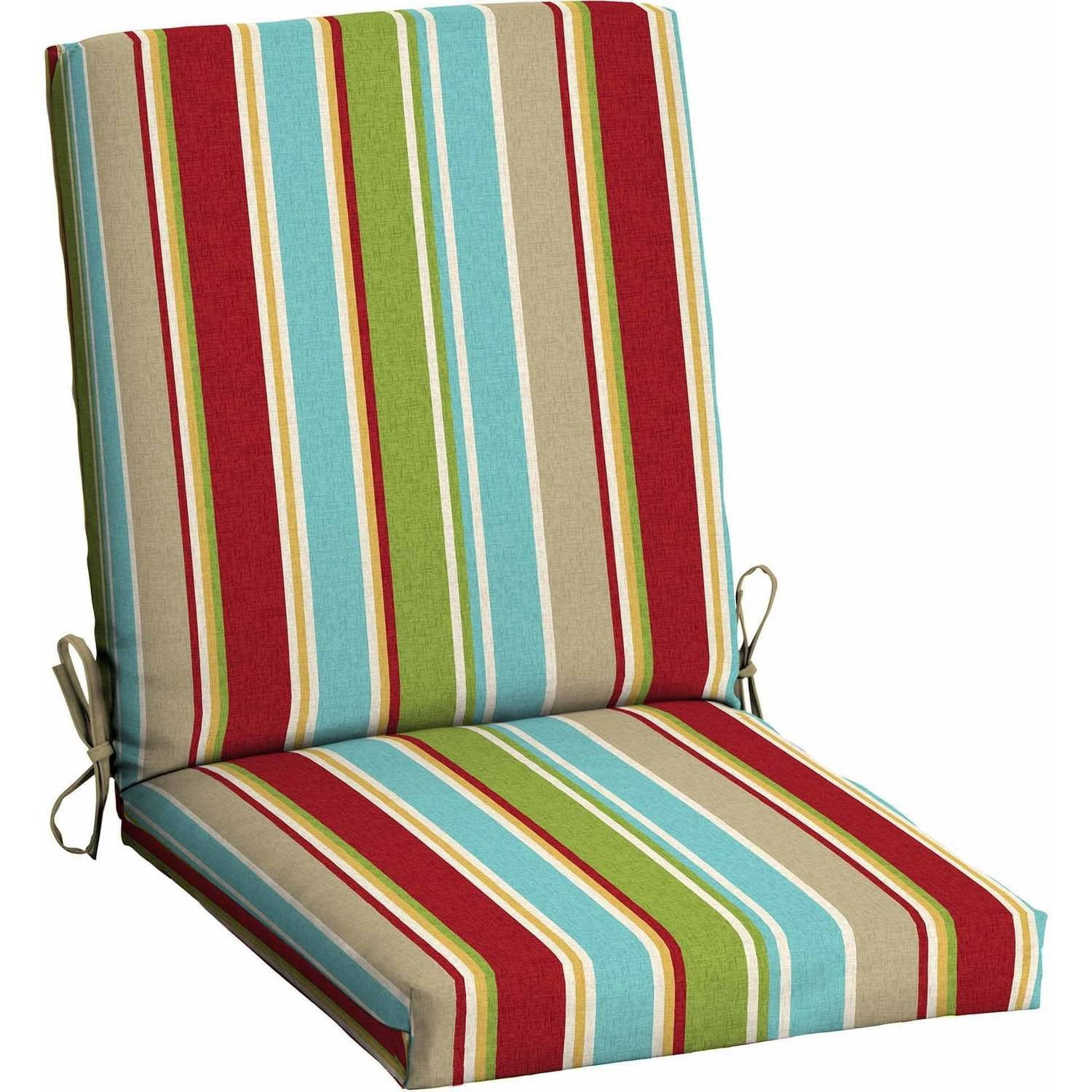 Etonnant Patio Chair Cushion. Mainstays Outdoor ...