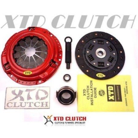 Race Clutch (XTD STAGE 2 RACE CLUTCH KIT HONDA CIVIC DEL SOL D15 D16 D17)