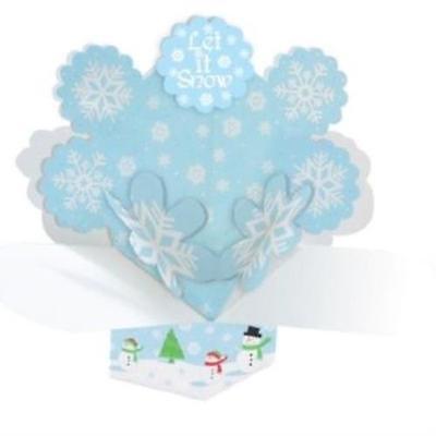 Snow White Centerpieces (Let it Snow Dimensional Fireworks Centerpiece,)