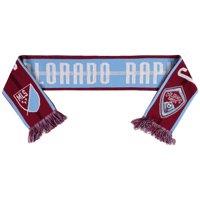 Colorado Rapids Team Pride Scarf - Burgundy/Blue - No Size