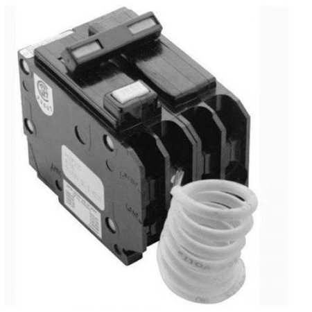 Cutler Hammer GFTCB220 20 Amp 2 Pole GFCI Circuit Breaker Plug-In 120/240V For Br Series Panel (Does Not Fit In A Cutler Hammer Ch Series Panel) Replaces The GFCB220