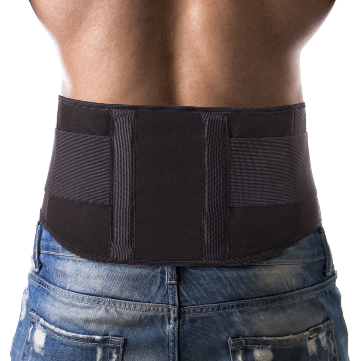 Light Lumbar Lower Back Brace Support Belt / Pain Relief and Comfort Posture