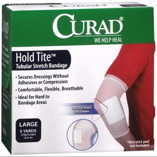 Curad Hold Tite Tubular Stretch Bandage Large 1 Each (Pack of 6)