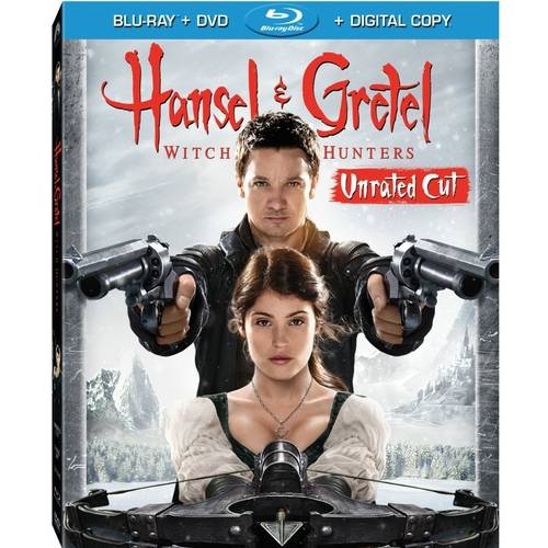 Hansel And Gretel: Witch Hunters (Rated/Unrated Extended) (Blu-ray   DVD   Digital HD With UltraViolet) (With INSTAWATCH)