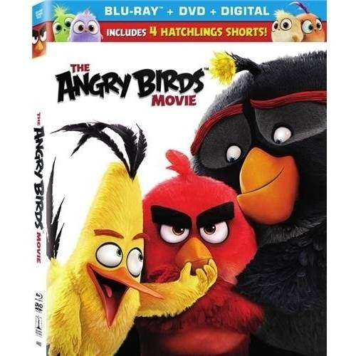The Angry Birds Movie (Blu-ray + DVD + Digital HD)