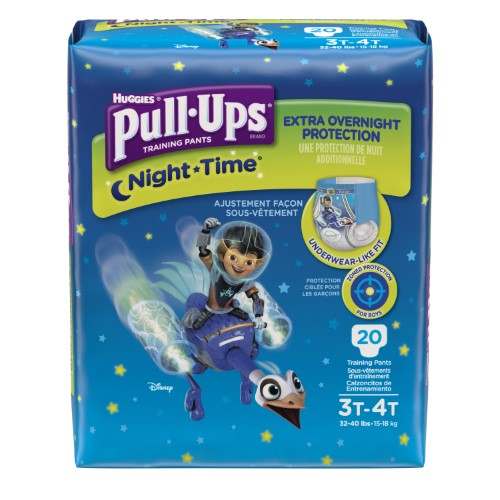 Pull-Ups Boys' Night-Time Training (Pack of 4)