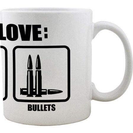 Things I Love Beer BBQ Bullets Molon Labe Coffee Mug](I Love Bears)