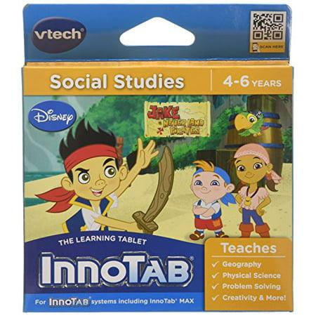 VTech InnoTab Game - Jake and the Neverland Pirates - Walmart.com