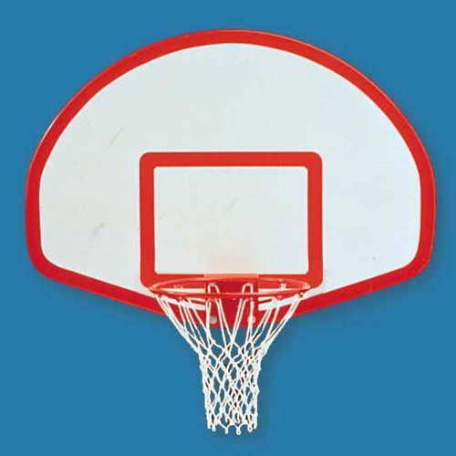 Jaypro Fan Aluminum Basketball Backboard with Border and Target