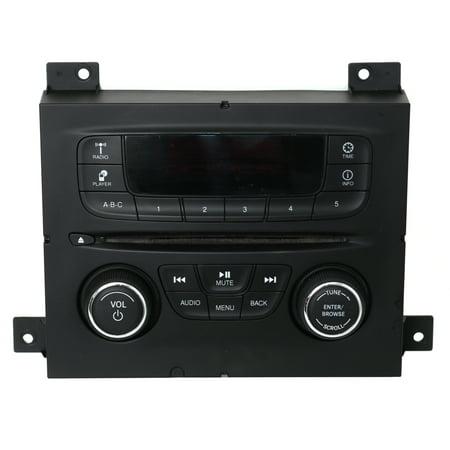 64 65 66 Dodge Dart (2013-2014 Dodge Dart AM FM Radio mp3 CD Requires Code Part Number  04692355AF -)