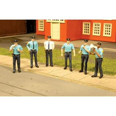 - Bachmann 33104 HO Scale Police Squad (6pcs/pk)
