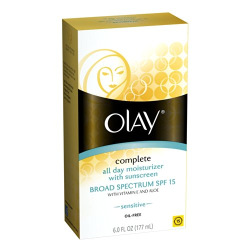 Olay Complete All Day Moisturizer for Sensitive Skin SPF 15 6 oz Each