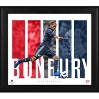 "Teal Bunbury New England Revolution Framed 15"" x 17"" Player Panel Collage"