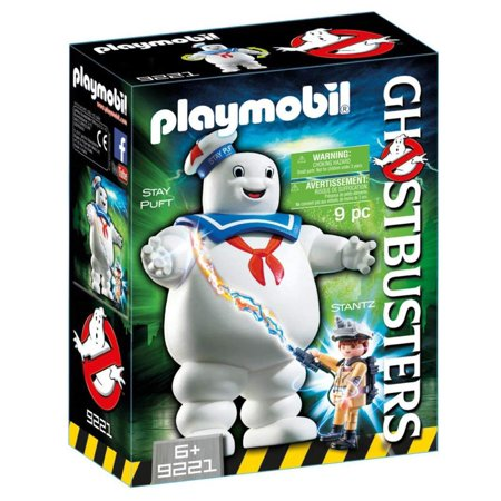 Stay Puft Marshmallow Man, Get FOUR FREE EPISODES of The Real Ghostbusters with any PLAYMOBIL Ghostbusters purchase! Visit ghostbusterscode.playmobilWalmart to redeem..., By PLAYMOBIL](Stay Puft Marshmallow Man Lawn Decoration)