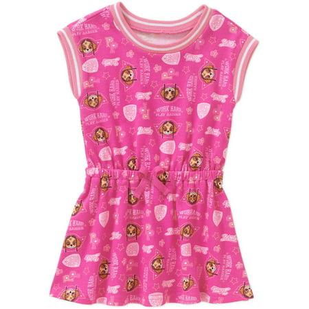 Paw Patrol Toddler Girls' French Terry Sleeveless Dress