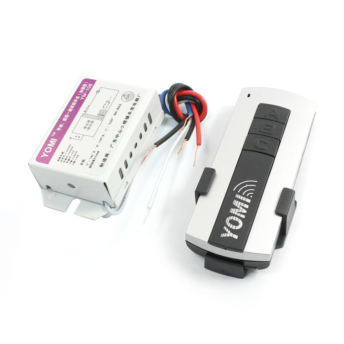 AC 220V 1 Channel 40 Meter Remote Control Switch Receiver Transmitter Module