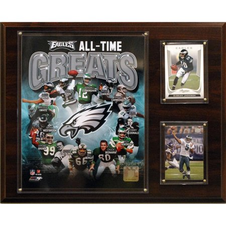 C&I Collectables NFL 12x15 Philadelphia Eagles All-Time Great Photo Plaque