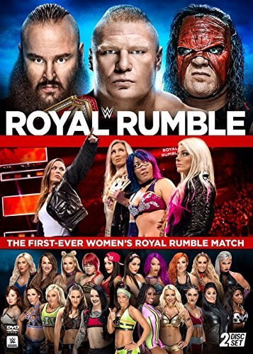 WWE: Royal Rumble 2018 (DVD) by WARNER HOME VIDEO