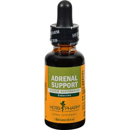 Herb Pharm Adrenal Support Tonic Compound Liquid Herbal Extract - 1 ounce 1 Ounce Kan Herbs