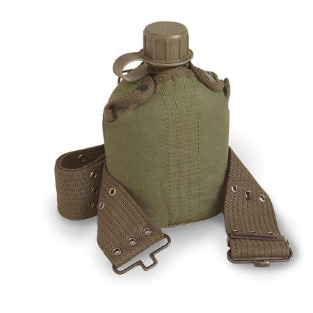 Stansport Plastic Canteen/Cover/Belt Set