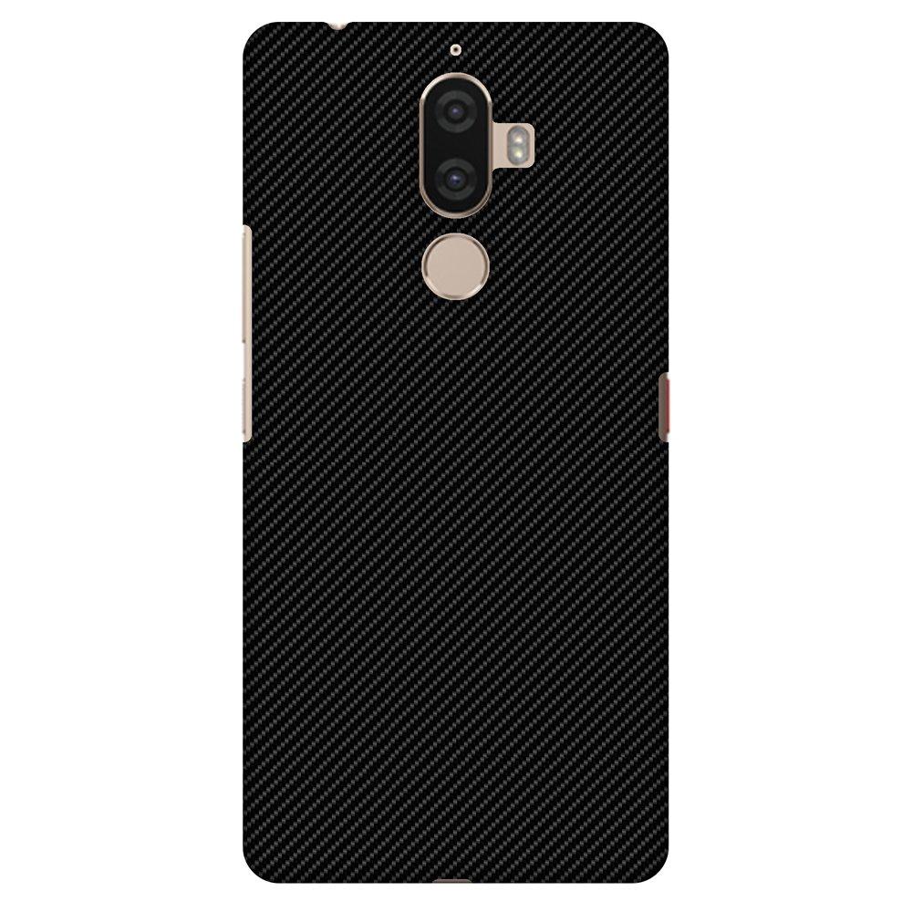 Lenovo K8 Note Case, Premium Handcrafted Printed Designer Hard ShockProof Case Back Cover for Lenovo K8 Note - Carbon Black With Texture