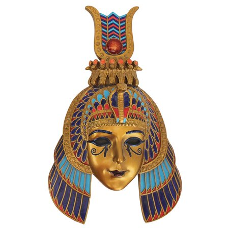Masks Of Egyptian Royalty Queen Of The Nile Wall Sculpture