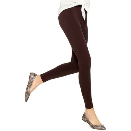 Women's Basic Cotton Leggings (Best Shoes To Wear With Black Leggings)