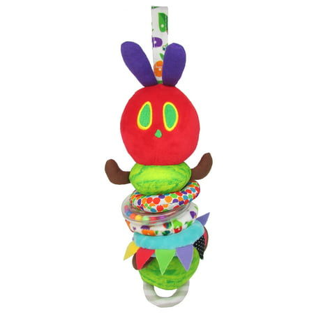 The World of Eric Carle The Very Hungry Caterpillar Pull Down Jingler Caterpillar (Eric Carle Toys)