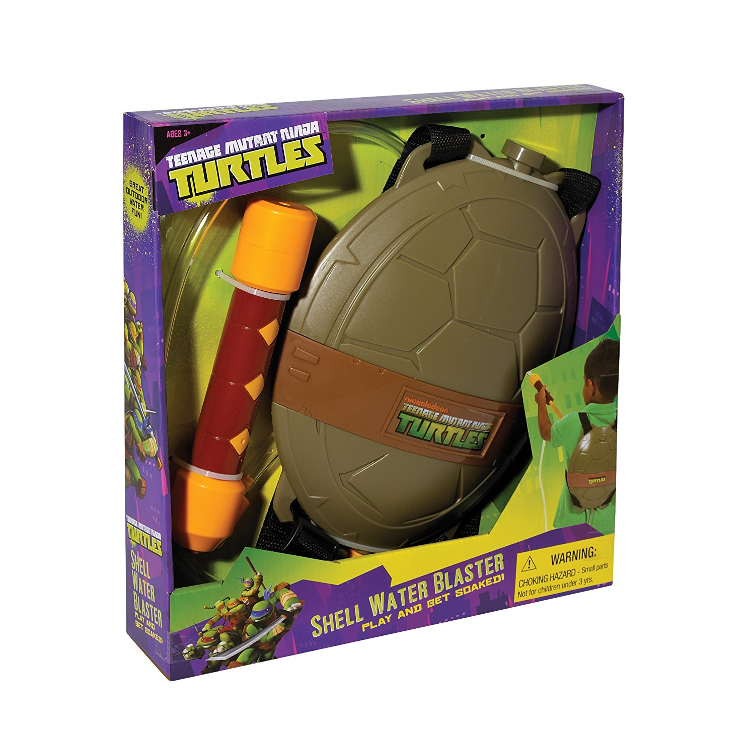Little Kids Shell Water Blaster, Ship from America by