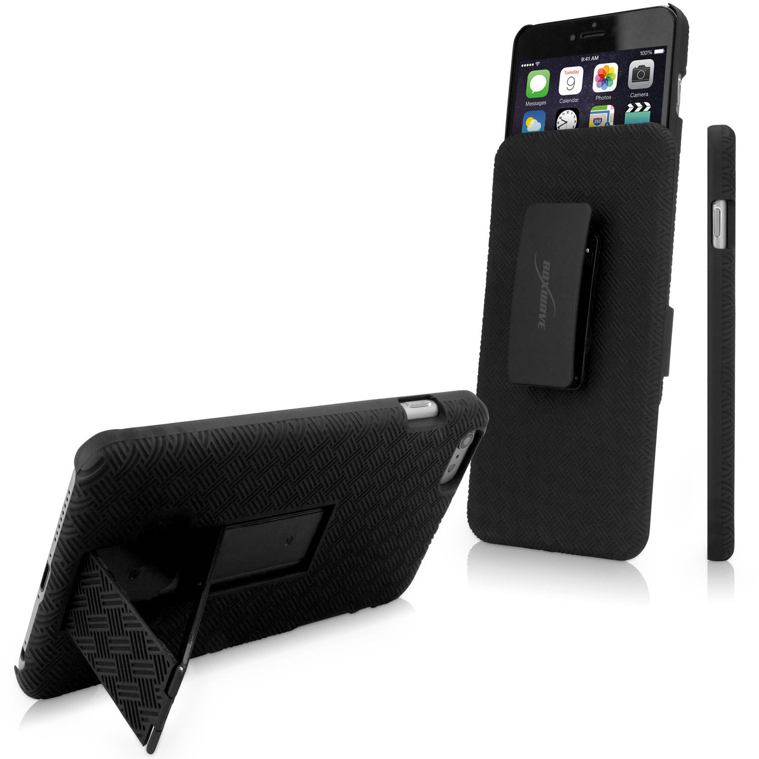 BoxWave Dual+ Holster Case for Apple iPhone 6 Plus/6s Plus