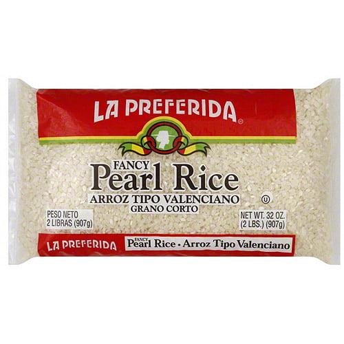 La Preferida Fancy Pearl Rice, 2 lb (Pack of 12)