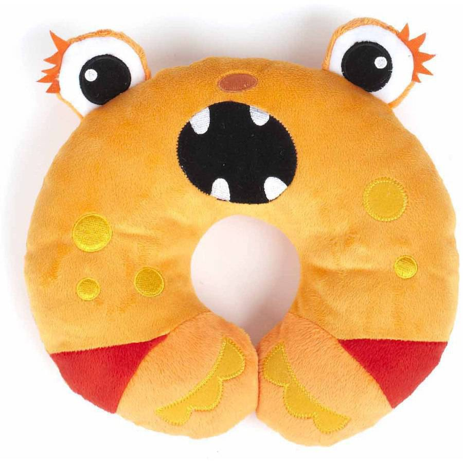 Nuby Monster Neck Support, Orange by Nuby