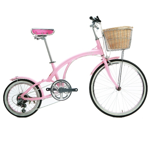 Comfort Bike by Corsa - 16.5'' Pink Flora