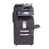 Refurbished Kyocera TaskAlfa 300ci Color Laser Multifunction Printer - A3/A4, 30ppm, Print, Copy, Scan, Duplex, Network, Document Feeder, 600 DPI, 2 Trays, Stand
