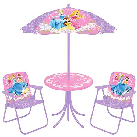 Amazing Disney Princess Table And Chair Set With Umbrella Gallery ...
