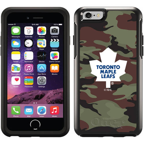 Toronto Maple Leafs Traditional Camo Design on OtterBox Symmetry Series Case for Apple iPhone 6