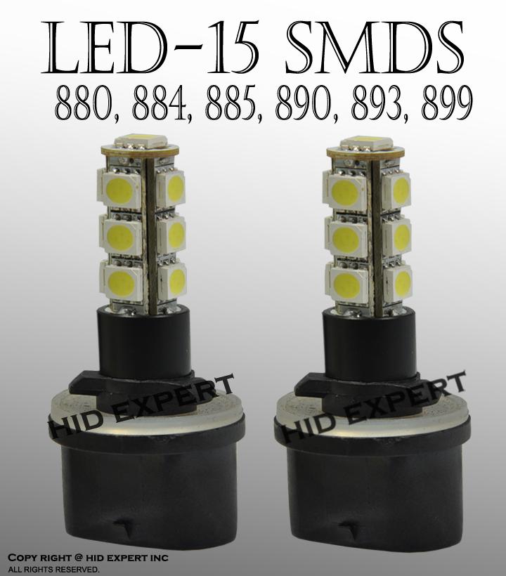 880 899 892 896 Hid 6k Car Fog Light Opt7 Bulb LED Conversion Headlight Bulbs