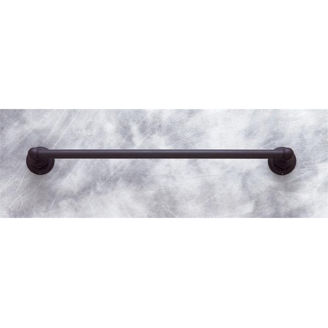 JVJHardware 26318 Comal 18 inch Towel Bar Set Concealed Screw - Oil Rubbed Bronze