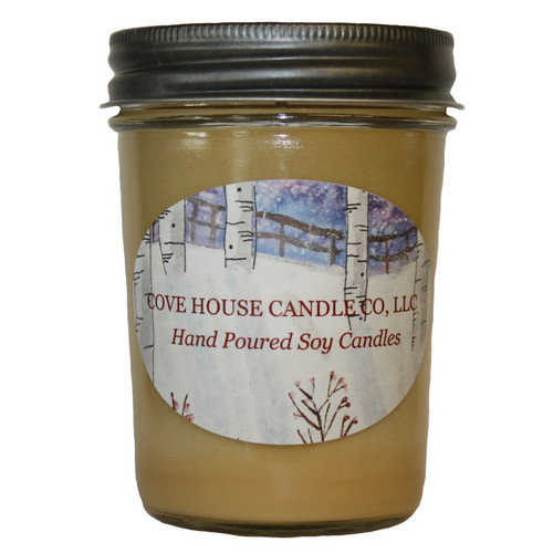 Cove House Candle Co Brandied Pear Jar Candle