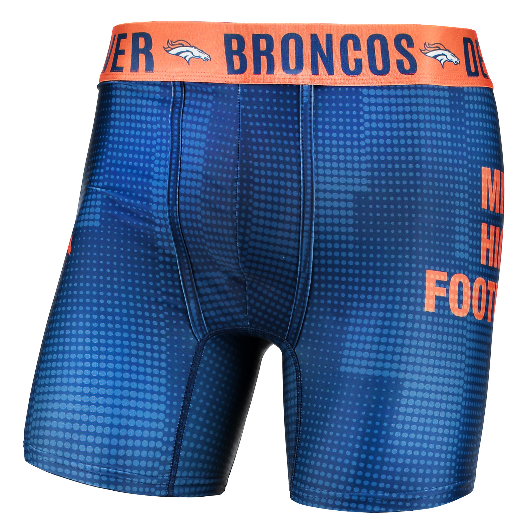 Denver Broncos Concepts Sport Infuse Boxer Briefs - Navy