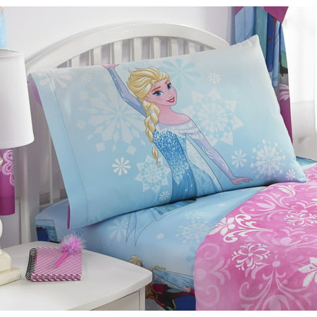 Disney's Frozen Sheet Set, Kids Bedding, Nordic Frost (Frozen Bed Twin Set)