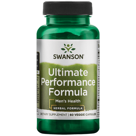 Swanson Ultimate Performance Formula - Men's Health 60 Veg