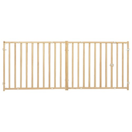 midwest homes for pets extra wide expanding wood gate